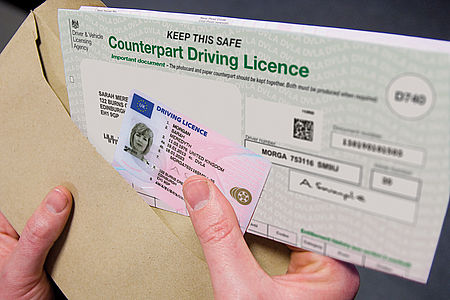DVLA photocard driving licence changes