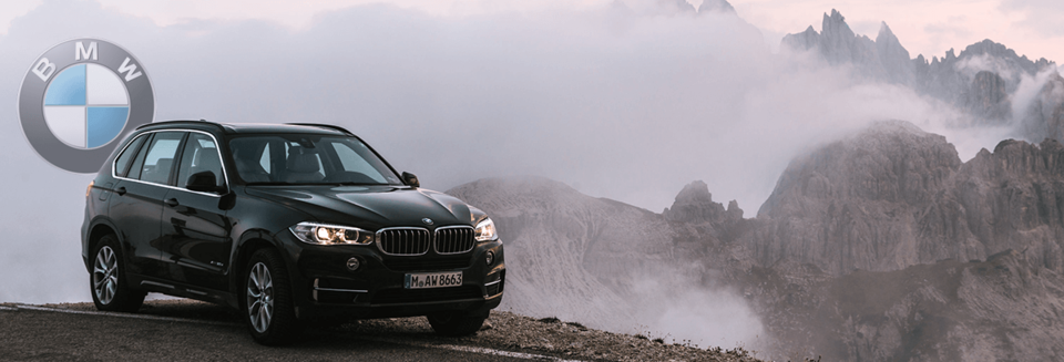 BMW X Series and the Alps