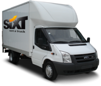 Rent a Ford Transit Luton moving truck from Sixt