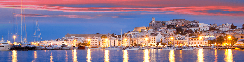 Cruise along the Ibiza coastline in a Sixt Convertible hire