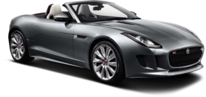 Hire a Jaguar F-Type Convertible for any time duration