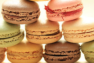 Macarons Paris Food