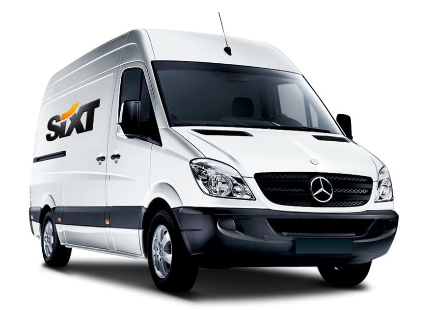 Sixt rent a van Bournemouth