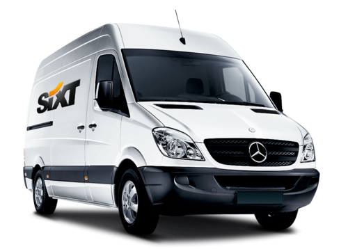 Sixt rent a van Glasgow