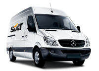 Rent a Mercedes-Benz moving van from Sixt