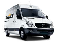 Rent a Mercedes-Benz Sprinter with Sixt