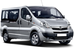 Hire a Vauxhall Vivaro Minibus from Sixt rent a car