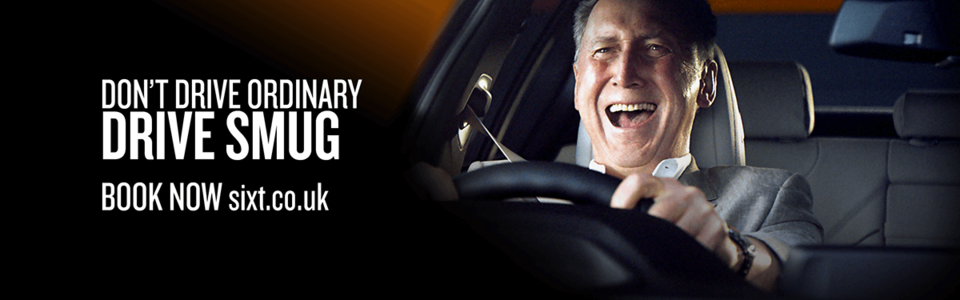 Drive Smug with Sixt in the UK