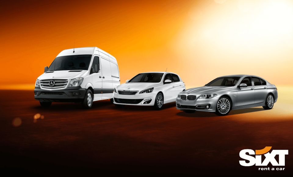 Rent A Car: Sixt Hire Vehicle Information