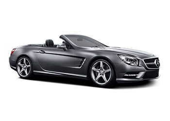 Mercedes-Benz SL400 Convertible Luxury car hire from Sixt rent a car