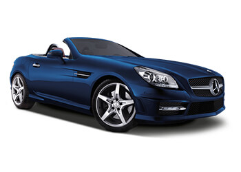 Mercedes SLK SUV hire from Sixt luxury cars