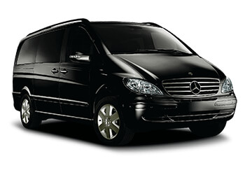 Mercedes Viano sports car hire