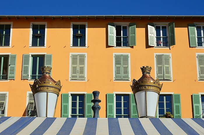 Beautiful houses in Nice