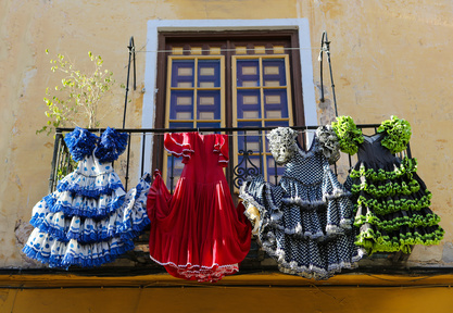 Andalucian dresses