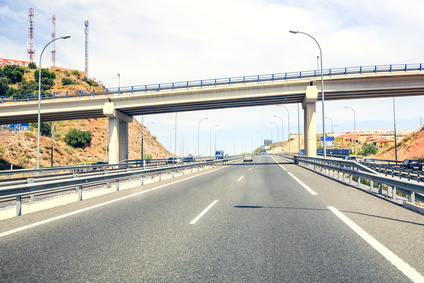 Motorways in Southern Spain