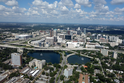 freeways through downtown Orlando