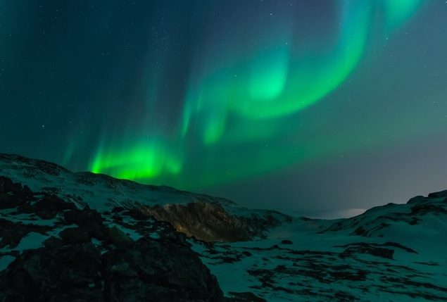 Northern Lights Across the Sky