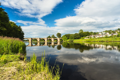 River Dee and bridge near Aberdeen