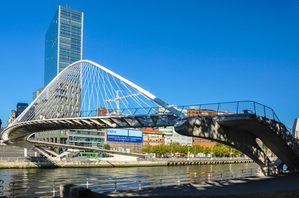Bilbao, the financial and business city of the Basque Country