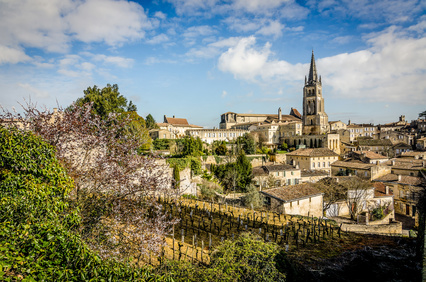 Beautiful views across Saint Emilion