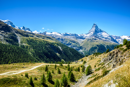 View of the Matterhorn, Switzerland