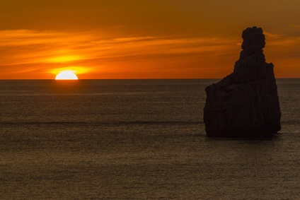 Sunset from Ibiza