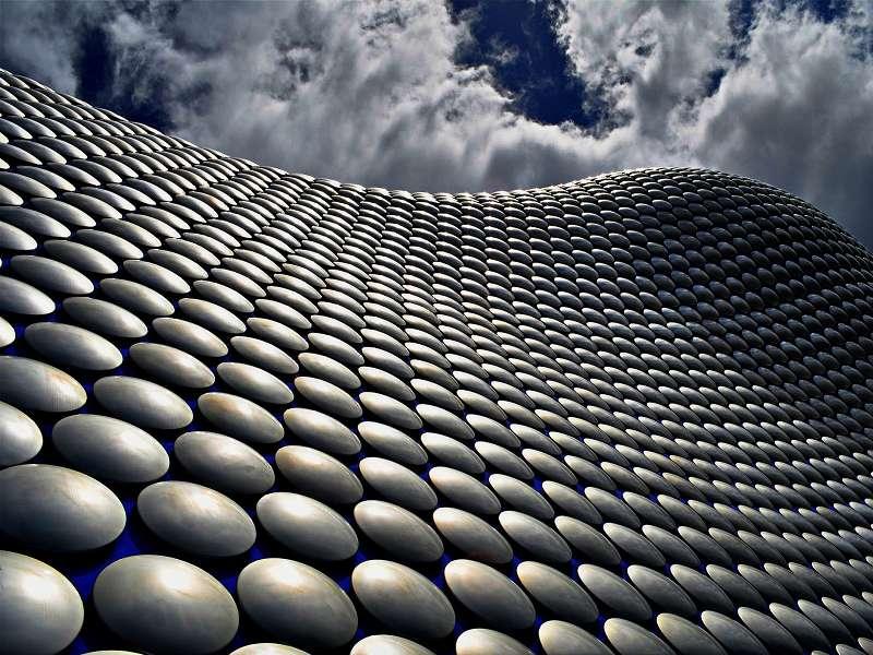 Modern archicture in Birmingham