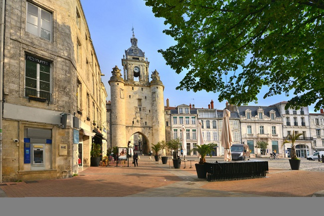 Town centre of La Rochelle
