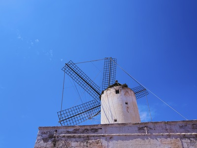 Windmill in Menorca