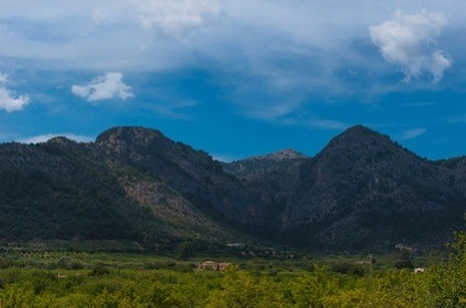 Panoramic View of Mallorca Hills