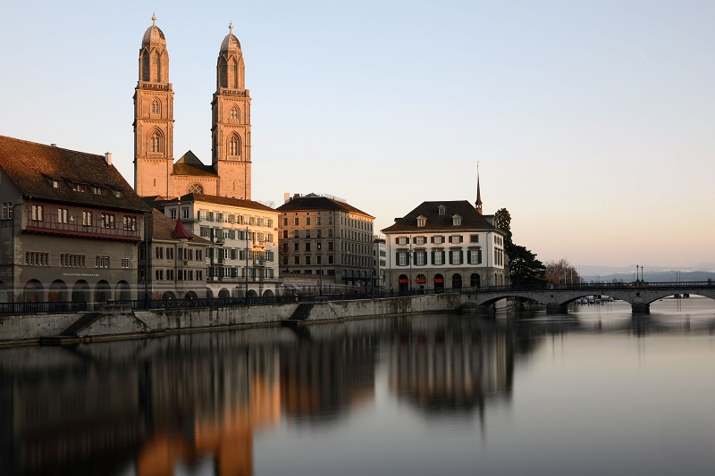 View of Zurich