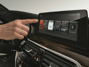 Sixt BMW 5 Series interface