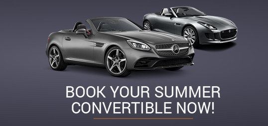 Up to 10% off Convertible Hire in the UK