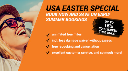 USA Car Hire Easter Deal