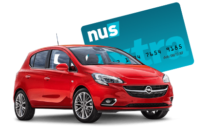 Up to 10% off car hire for students