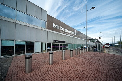 Flughafen Edinburgh