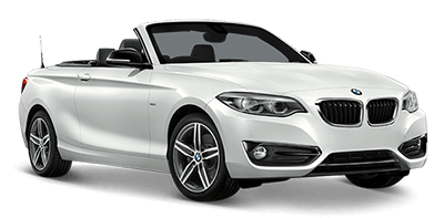BMW 2 Series Convertible Automatic Hire