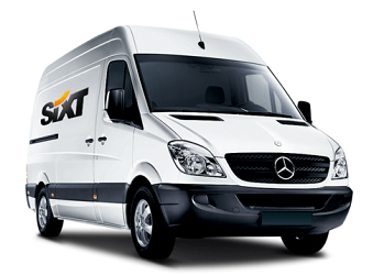 Sixt rent a van Newcastle