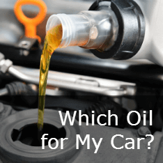 Which Oil for my Car? Guide