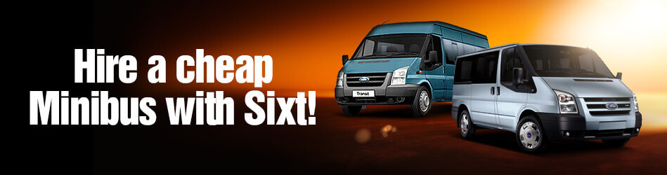 Rent a Minibus with Sixt
