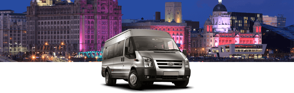 Minibus Hire Services in Liverpool from Sixt
