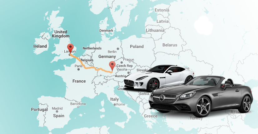 One Way Car Hire in Europe