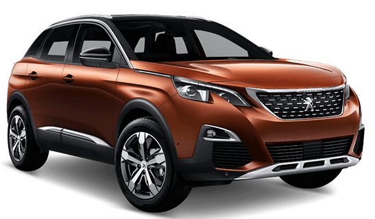 Peugeot 3008 4x4 hire from Sixt