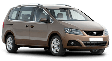 seat alhambra 7 seater hire sixt rent a car. Black Bedroom Furniture Sets. Home Design Ideas