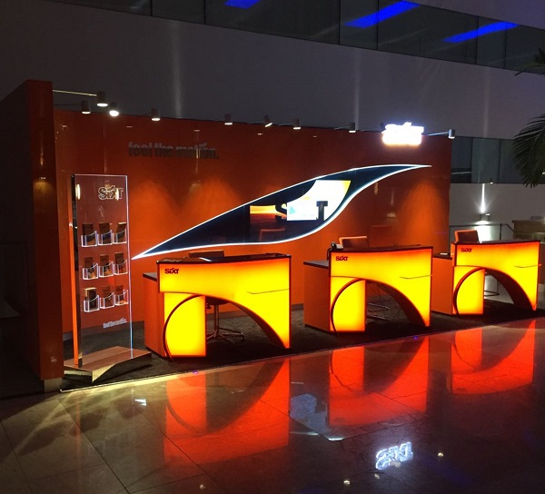 Sixt car hire branch in Heathrow Terminal 5
