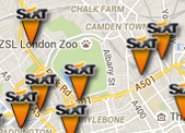 Sixt rent a car Station Network