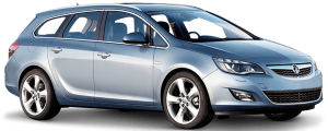 Vauxhall Astra Estate Hire