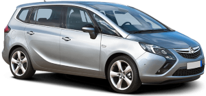 Vauxhall Zafira People Carrier Hire