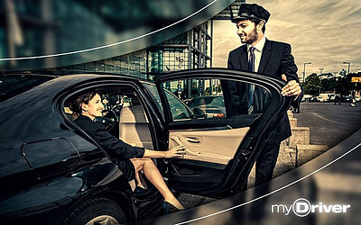 myDriver – your premium taxi alternative. 15 € discount on your first ride. For more details click HERE.
